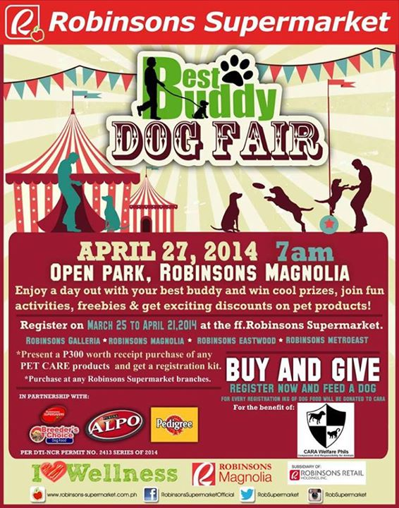 Best Buddy Dog Fair at Robinsons Supermarket