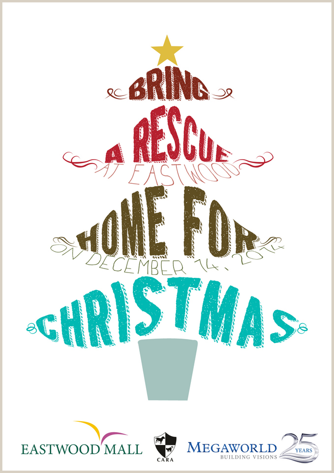 CARA Welfare Philippines - Pet adoption event - Bring a Rescue Home for Christmas - December 14, 2014