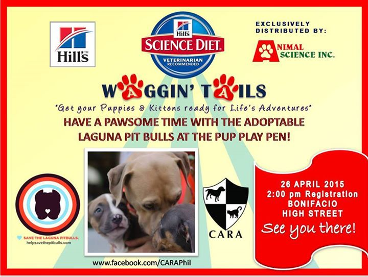 See you at WAGGIN' TAILS 2015