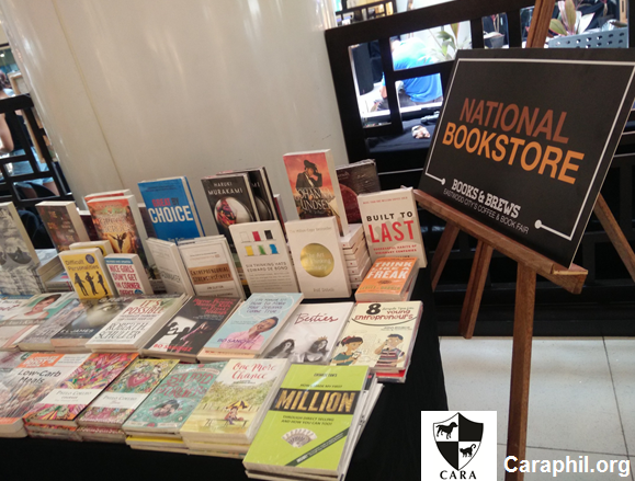 Cara Welfare Philippines Blog Archive Books Brews A Coffee And Book Fair