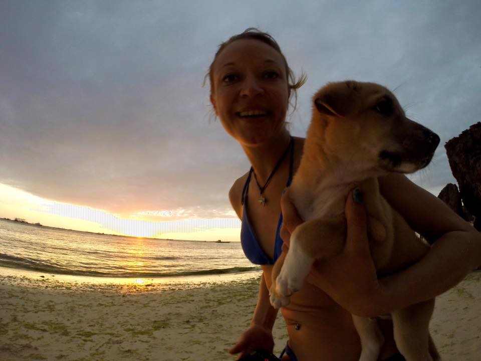 Emmy couldn't leave her Buddy behind in Boracay–so she took him home to Germany!