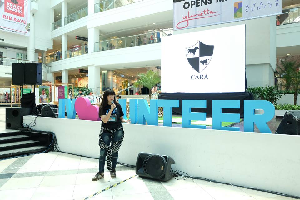 Michelle Baena Ciriacruz - CARA at Go Volunteer Expo 2016 - animal welfare philippines - volunteer opportunities - volunteer opportunities