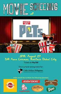 Watch a Movie for a Cause: 'The Secret Life of Pets' CARA Special Screening