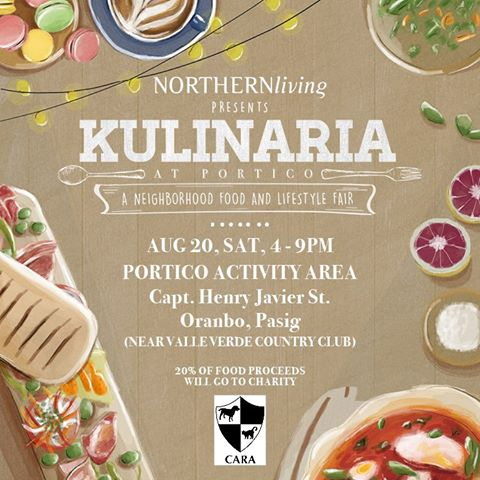 CARA Joins Kulinaria at Portico: A Neighborhood Food and Lifestyle Fair!