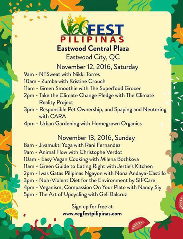 See You at VEGFEST Pilipinas this Weekend!