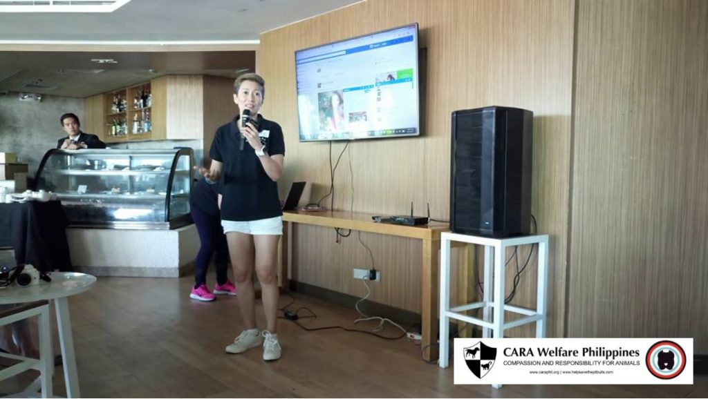 Ria Ilano - CARA - responsible pet ownership and animal welfare education