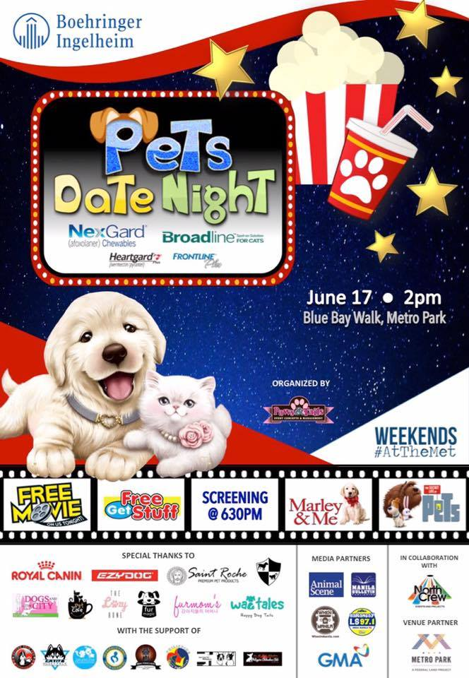 Join Us at the Pet Date Night This Coming June 17