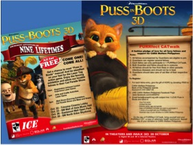 "PUSS IN BOOTS ""Amusement Adventure of Nine Lifetimes"""