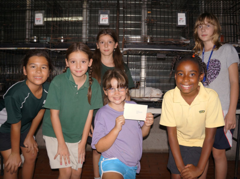 A Visit by Girl Scouts Overseas to the CARA Clinic