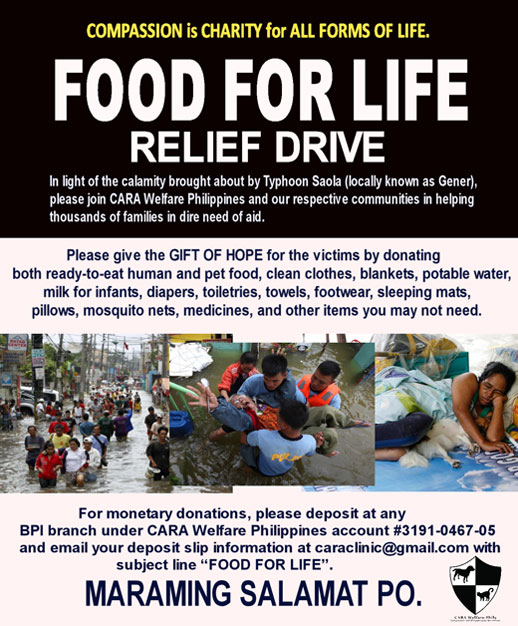 Food for Life Relief Drive
