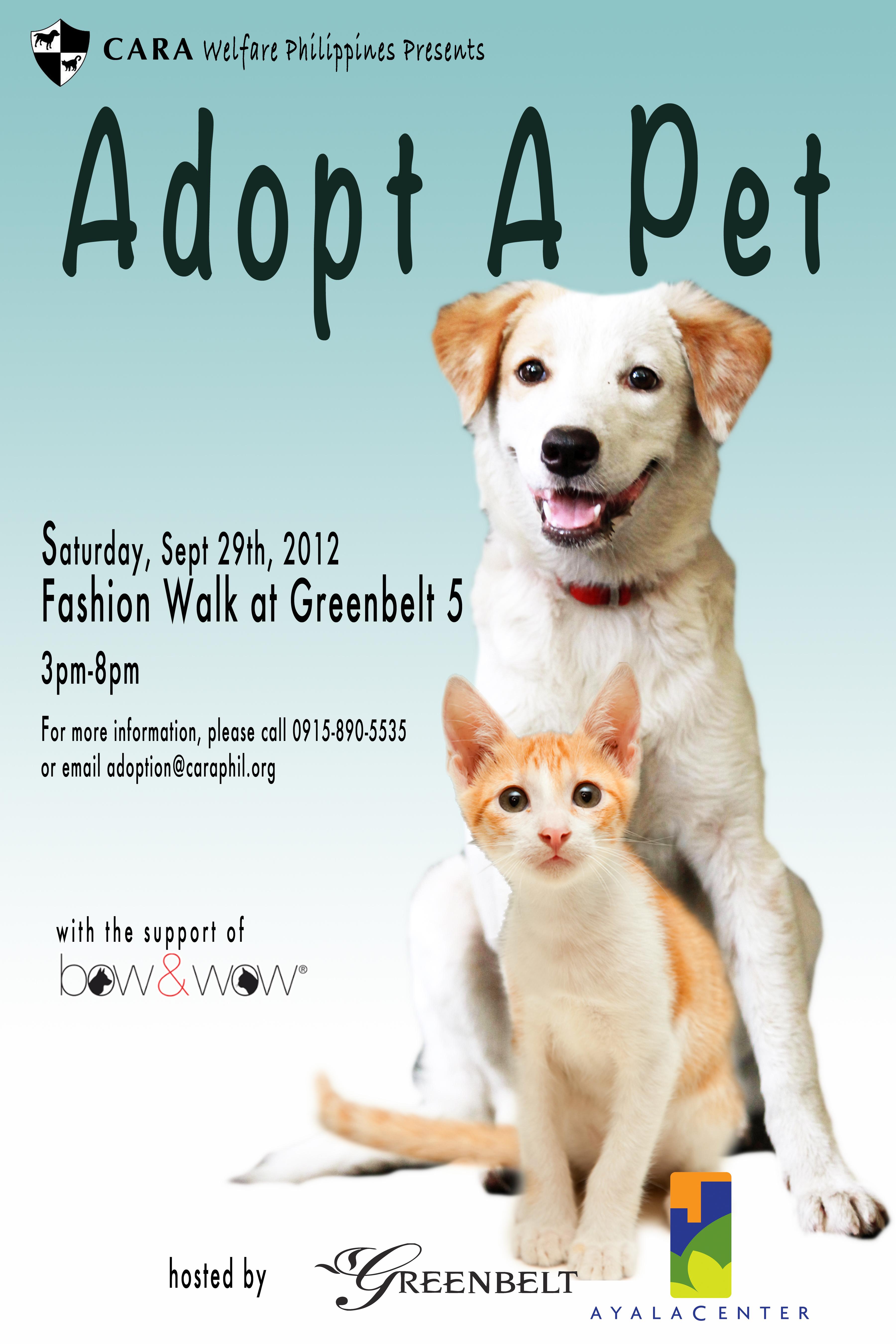 Adoption Event at Greenbelt 5!!!