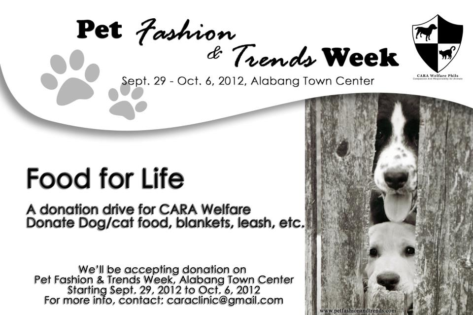 Pet Fashion and Trends Week!!
