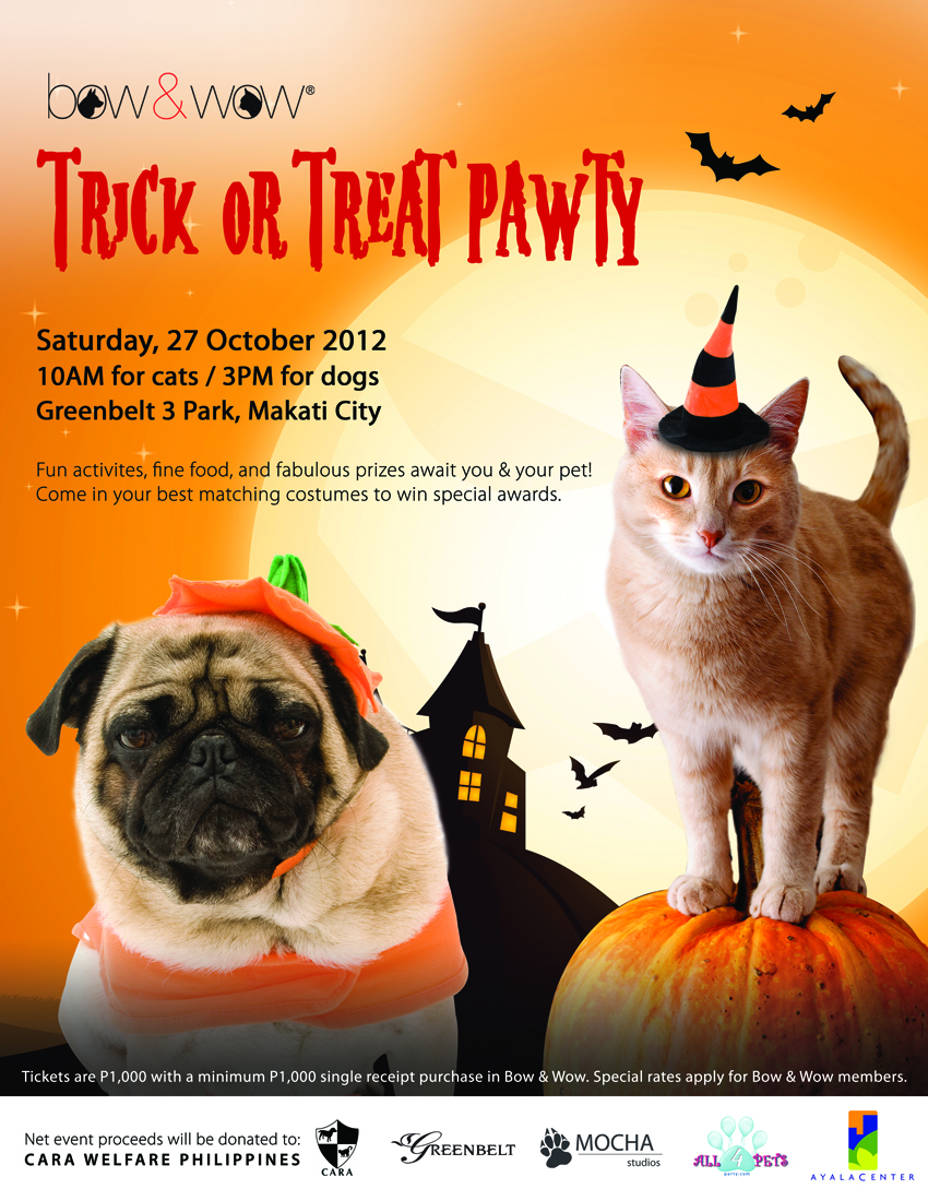 Trick or Treat Pawty!