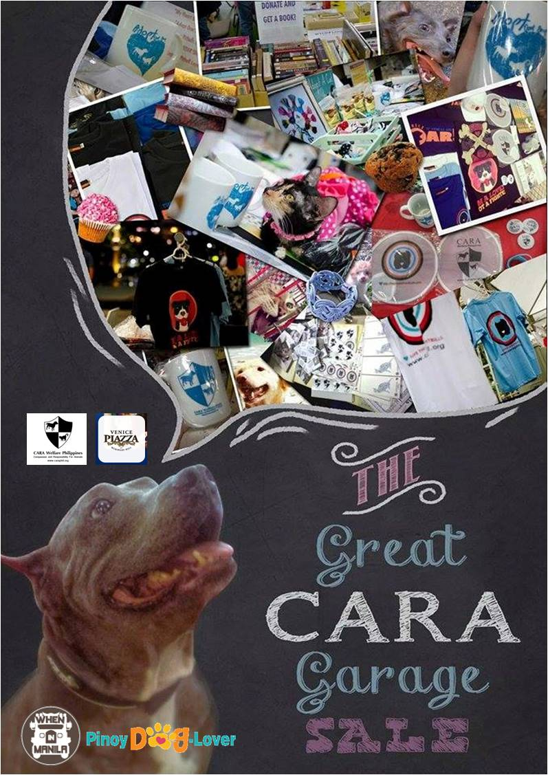 UPDATED – Join us at the GREAT CARA GARAGE SALE at Venice Piazza on December 7!