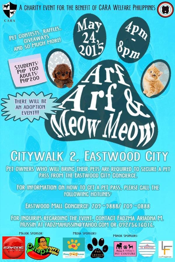 Arf Arf & Meow Meow Pet Event