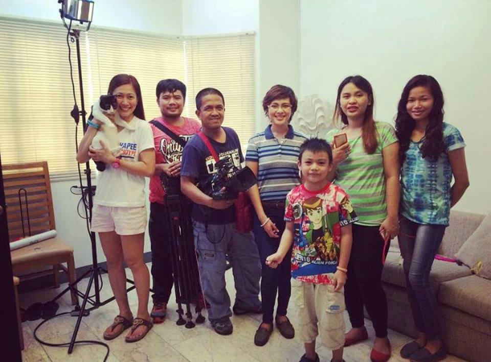 CARA guests in GMA News TV's BRIGADA