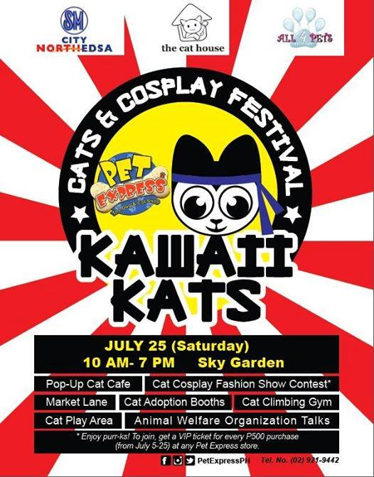 CARA joins Kawaii Kats: Cats & Cosplay Festival