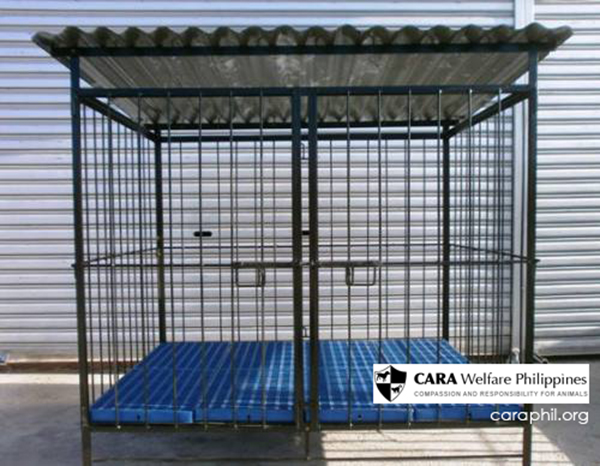 Please donate a dog cage to CARA