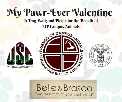 My Paw-Ever Valentine at the UP Diliman Campus