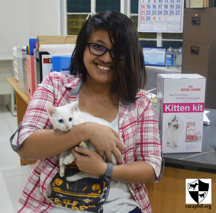 Ely from Buendia finally found a loving home!