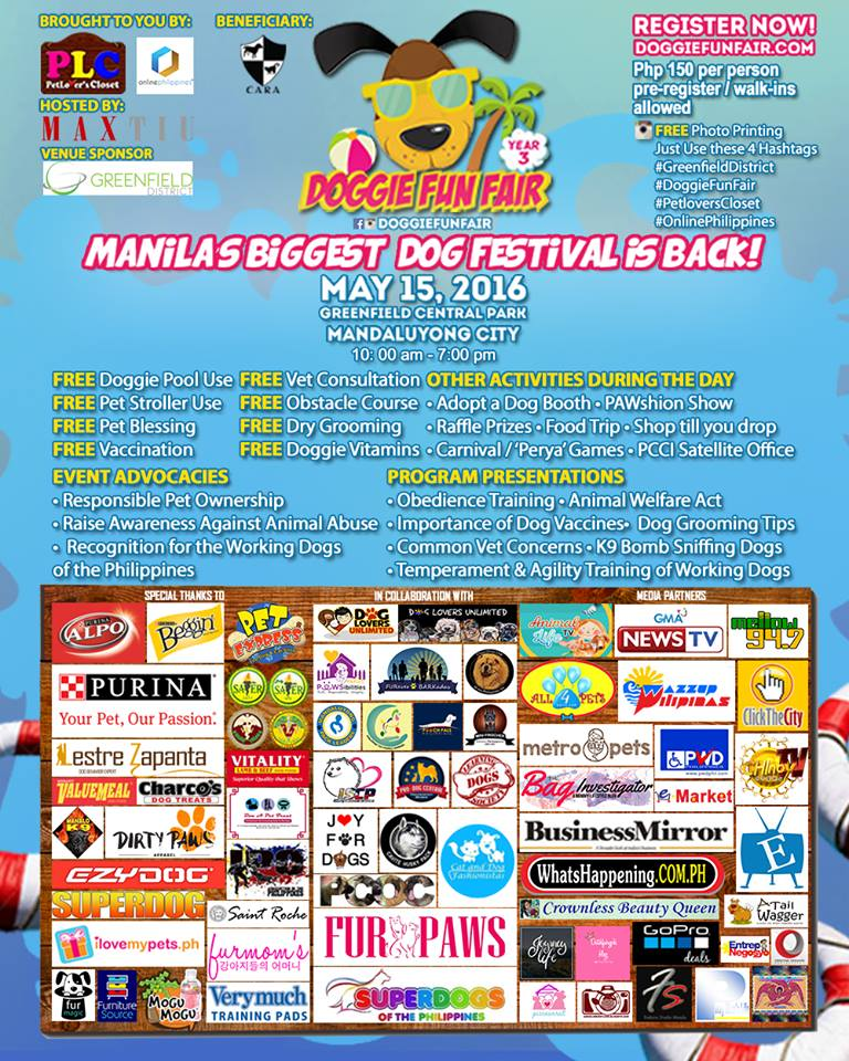 Manila's biggest DOG FESTIVAL