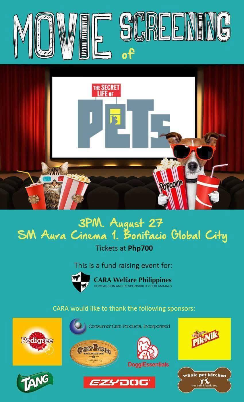 Special Screening of The Secret Life of Pets: A Big Thank You!