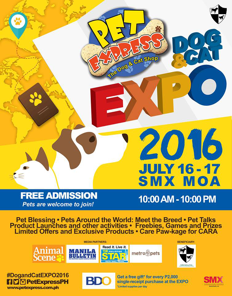Pet Express Dog & Cat Expo!