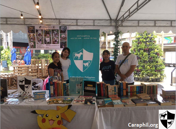 Mandala Park Weekend Book Drive for Rescued Pets