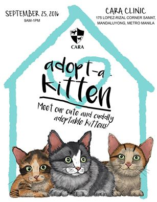 Event Alert: Adopt-a-Kitten this September!