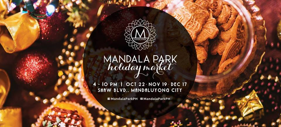 Mandala Park Weekend Holiday Market, Here We Go!