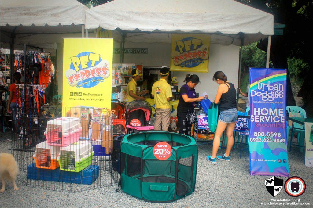 Oct 2017 Ayala Alabang Village Dog Park CARA Welfare Philippines Event booth