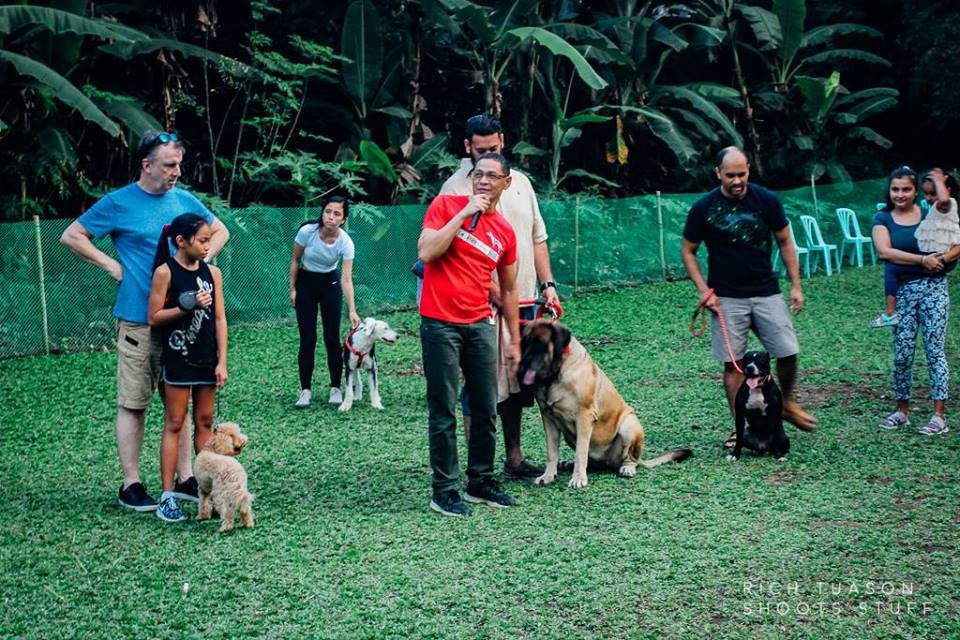 Oct 2017 Ayala Alabang Village Dog Park CARA Welfare Philippines Events Dog