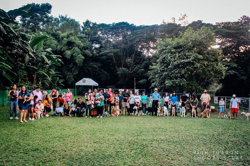 Oct 2017 Ayala Alabang Village Dog Park CARA Welfare Philippines Events Group