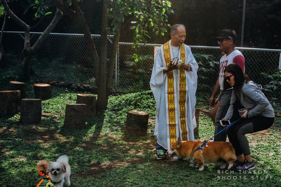 Oct 2017 Ayala Alabang Village Dog Park CARA Welfare Philippines Events Pet Blessing