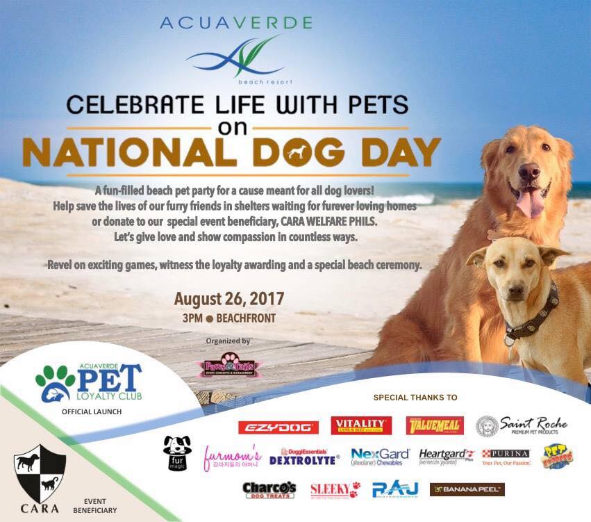 Celebrate Life With Pets on National Dog Day!