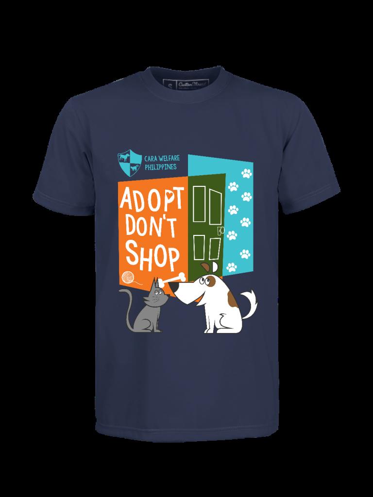 CARA Adopt Don't Shop Puspin and Aspin shirt