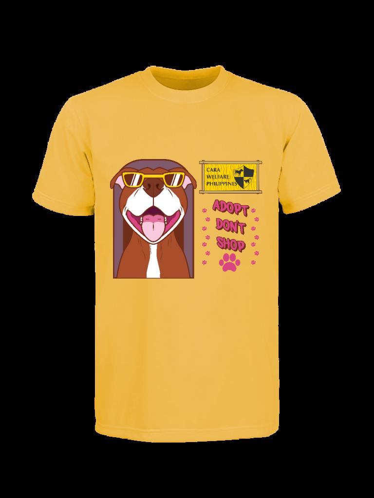 CARA Adopt Don't Shop Laguna Pit Bull shirt